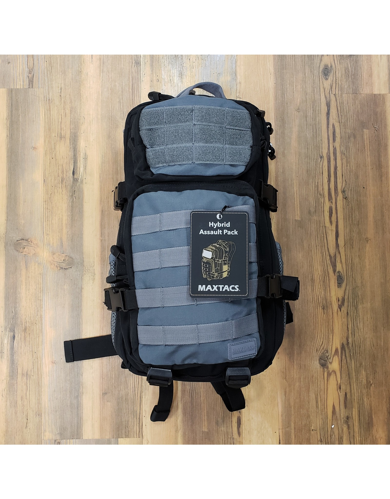 MAXTACS HYBRID ASSAULT PACK BLK/GREY 110008