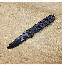 RUKO KNIVES RUKO PREDATOR PLAIN EDGE - 90084 BLACK