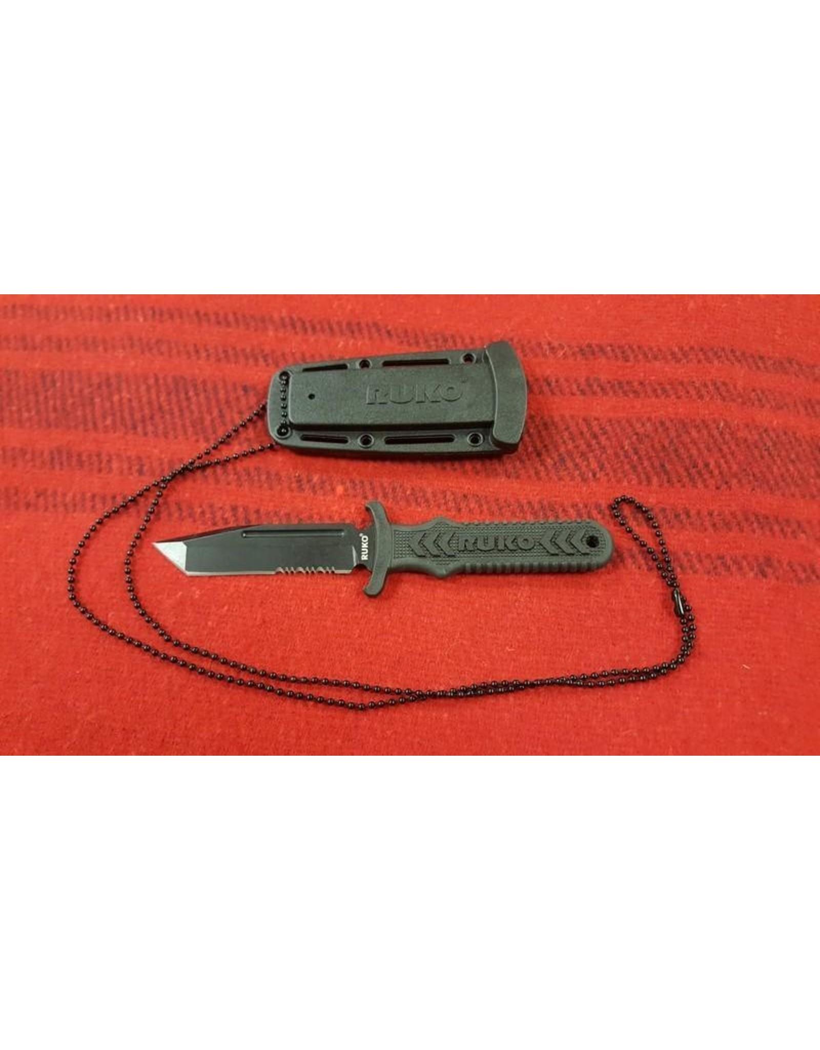 RUKO KNIVES RUKO 0098L TANTO FIXED BLADE BOOT KNIFE