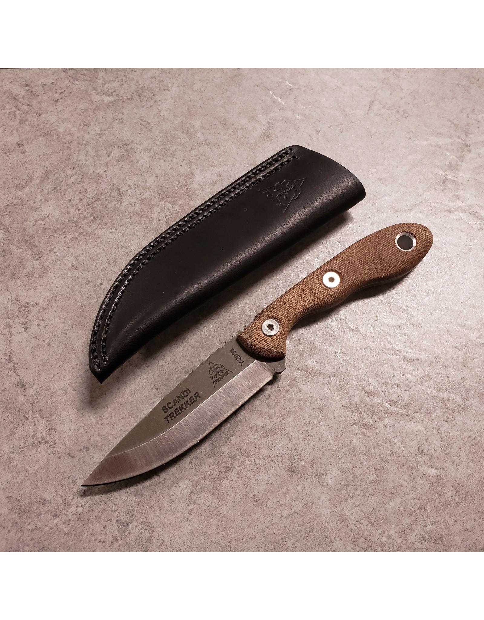TOPS KNIVES TOPS SCANDI TREKKER KNIFE