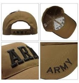 ROTHCO ARMY BASEBALL CAP - TAN