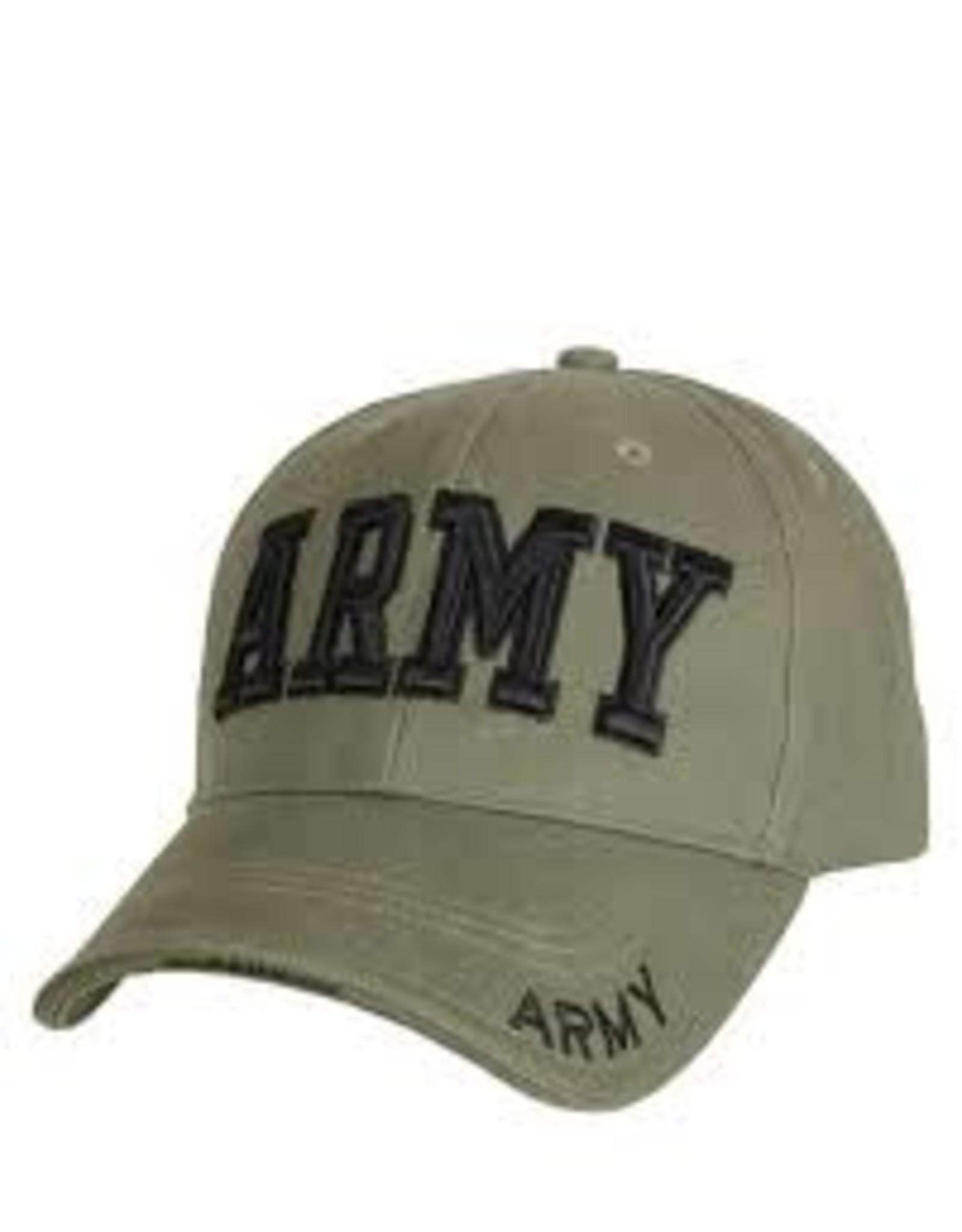 ROTHCO ARMY BASEBALL CAP - OLIVE DRAB