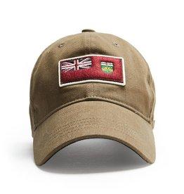 RED CANOE ONTARIO CAP, KHAKI
