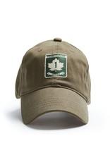 RED CANOE TRANS CANADA ONTARIO CAP, KHAKI
