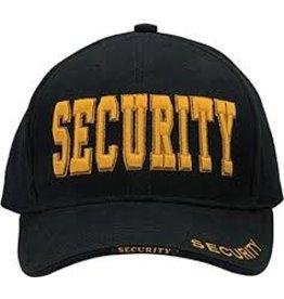 ROTHCO SECURITY Baseball Cap GOLD/BLACK