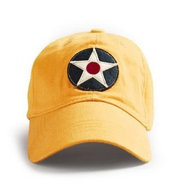 RED CANOE US ROUNDEL CAP, BURNT YELLOW