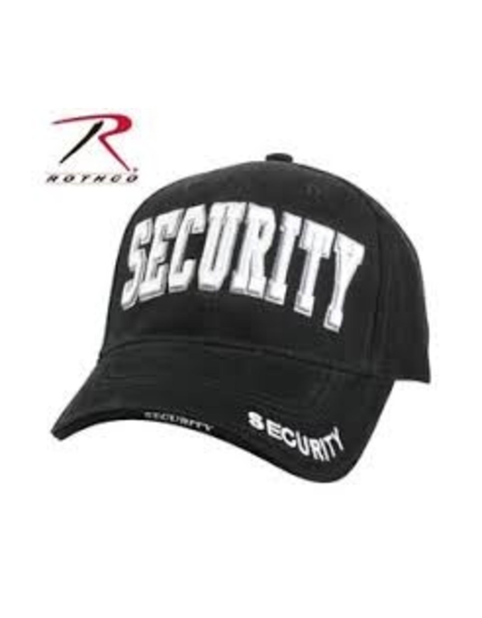 ROTHCO SECURITY Baseball cap - BLACK/WHITE