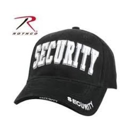 ROTHCO SECURITY Baseball cap - BLACK/WHITE