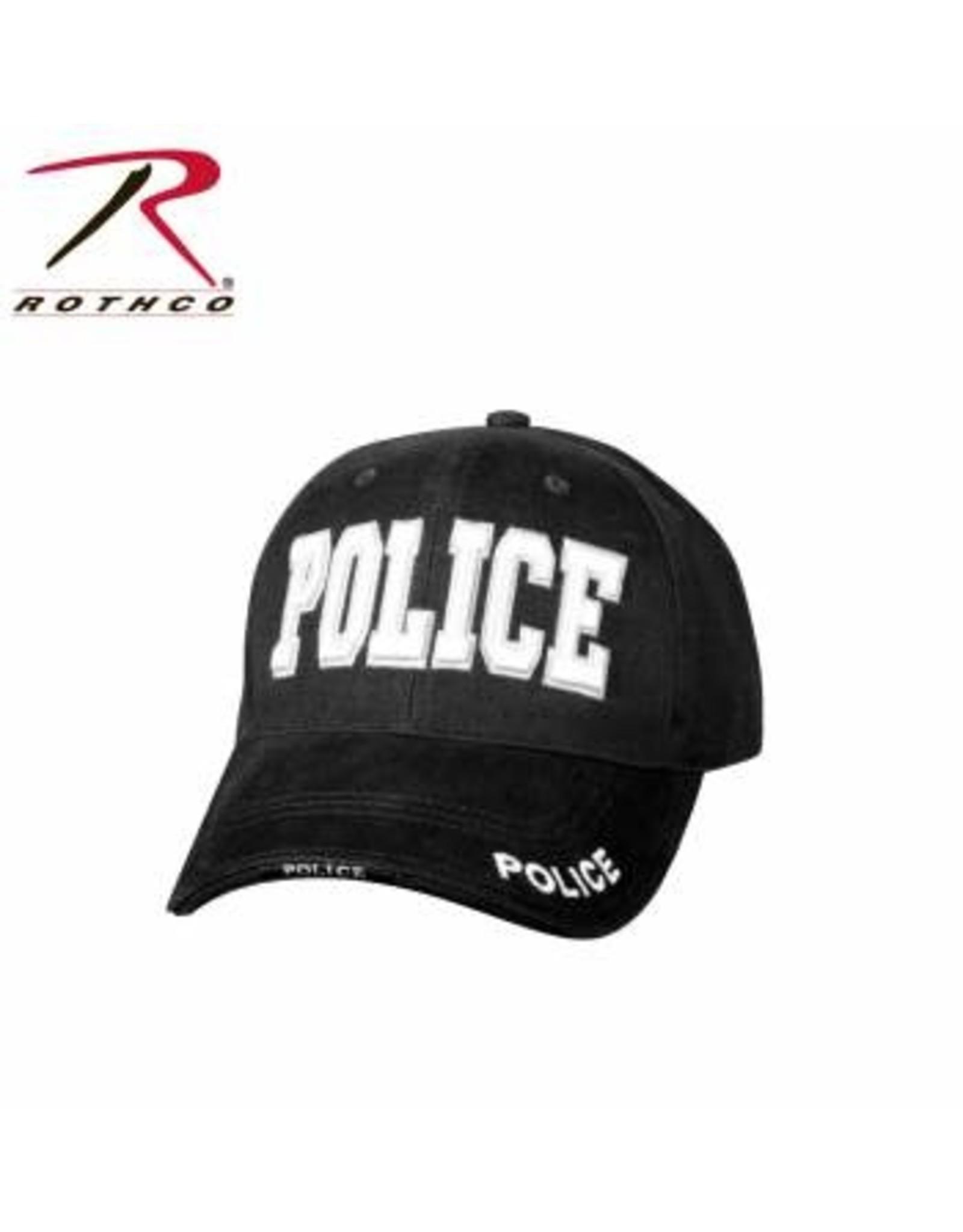 ROTHCO POLICE Baseball cap - Black