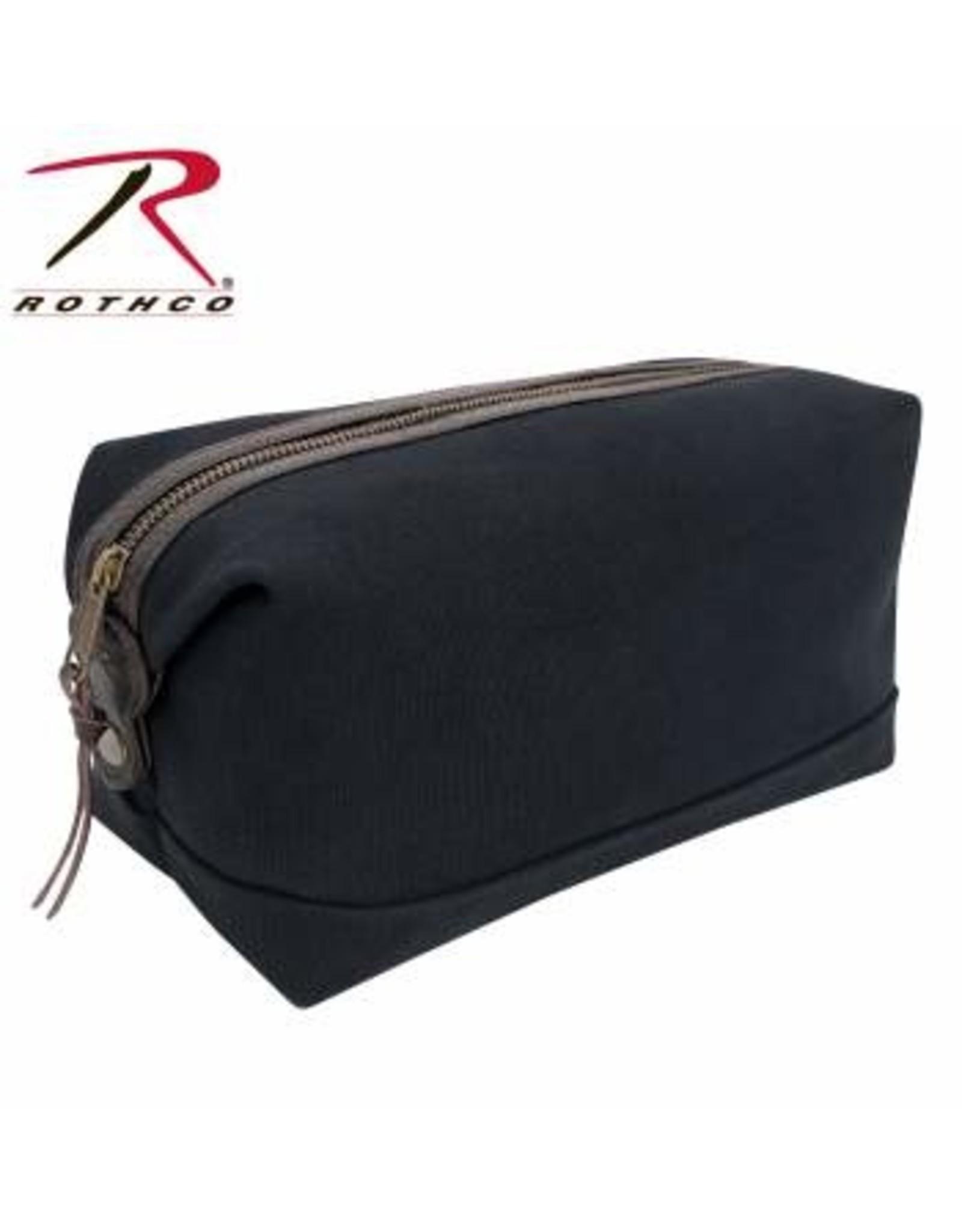 ROTHCO Rothco Canvas & Leather Travel Kit