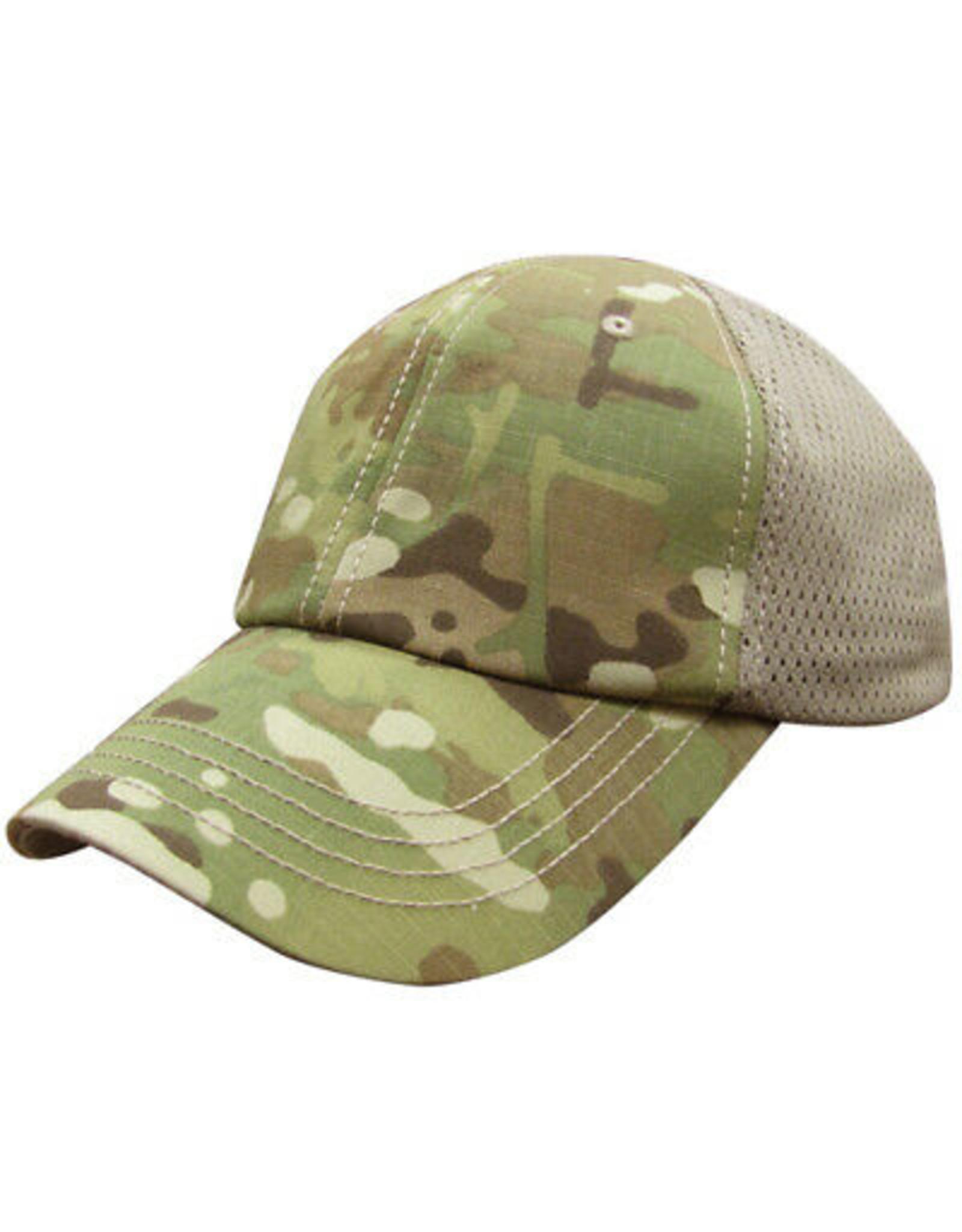 CONDOR TACTICAL MESH TACTICAL TEAM CAP WITH MULTICAM