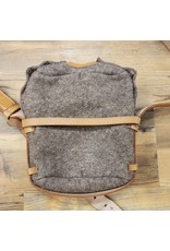 SURPLUS SURPLUS VINTAGE WOOL CANTEEN POUCH & STRAP