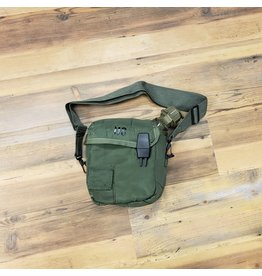 SURPLUS U.S. 2L CANTEEN &POUCH -OLIVE-USED