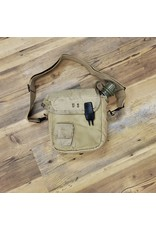 SURPLUS U.S. 2L CANTEEN & POUCH -COYOTE-USED