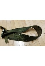 SURPLUS CANADIAN COMBAT OLIVE BELT USED