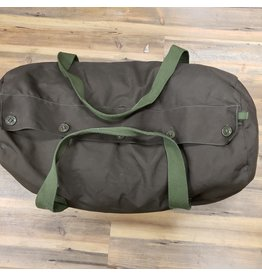 SURPLUS CANADIAN NYLON DUFFLE BAG -USED