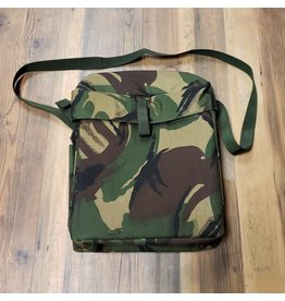 SURPLUS BRITISH GAS MASK BAG CAMO