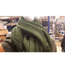 SURPLUS CANADIAN COTTON OLIVE SCARF