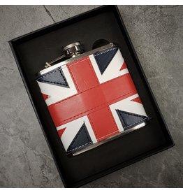 NOSTALGIA BRITISH FLAG FLASK