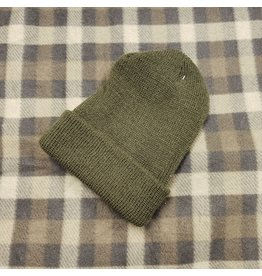 ROTHCO 100% WOOL WATCH CAP OLIVE