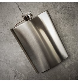 SONA ENTERPRISE SONA FLASK 8OZ STAINLESS STEEL