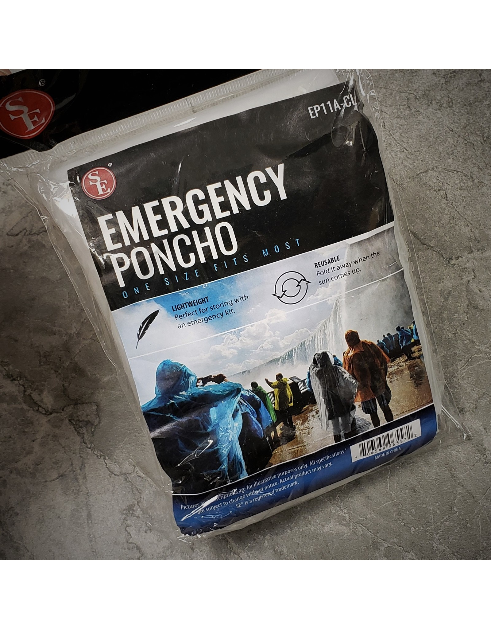 SONA ENTERPRISE EMERGENCY PONCHO O/S