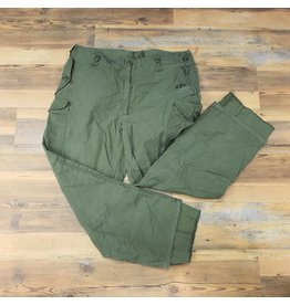 SURPLUS CANADIAN OLIVE DRAB COMBAT PANTS-USED