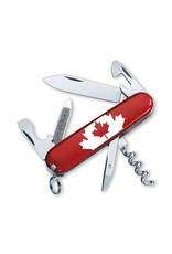 VICTORINOX SWISS ARMY SPORTSMAN CANADA FLAG KNIFE