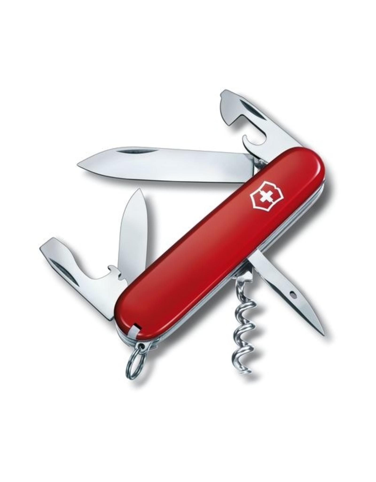 VICTORINOX SWISS ARMY SPARTAN KNIFE, RED