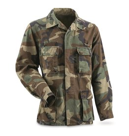 SURPLUS U.S. WOODLAND CAMO SHIRT