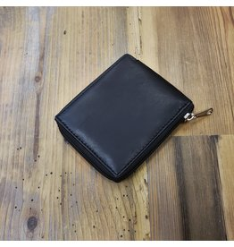 KANU LEATHER WALLET ID PROTECT ZIPPER K201