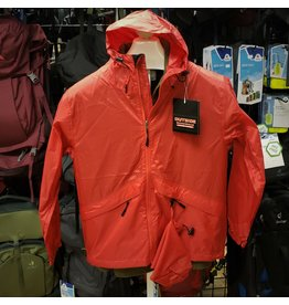 GUIDE'S CHOICE STORM LITE RAIN JACKET-RED