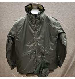 GUIDE'S CHOICE STORM LITE PACKABLE JACKET OLIVE
