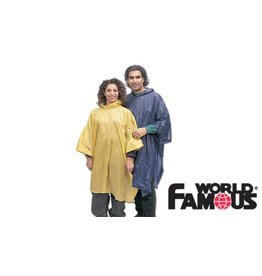 WORLD FAMOUS SALES VINYL PONCHO
