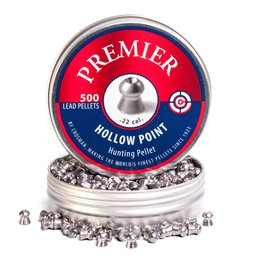 CROSMAN CROSMAN .22 HOLLOW POINT 14.3gr PREMIUM PELLETS (500ct)