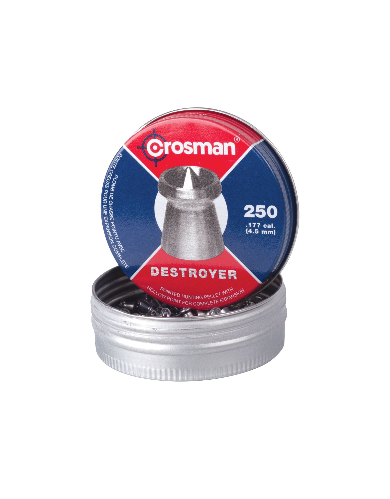 CROSMAN CROSMAN .177 DESTROYER 7.4gr PELLET (250ct)