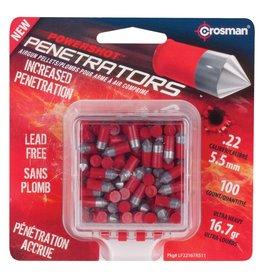 CROSMAN CROSMAN .22 RED FLIGHT PENETRATOR 16.7gr LEAD FREE PELLETS (100ct)