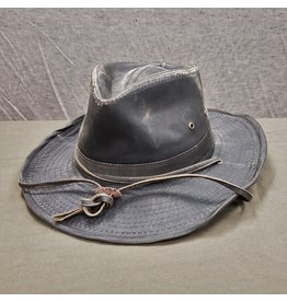 BRONER DISTRESSED BROWN OUTDOOR HAT
