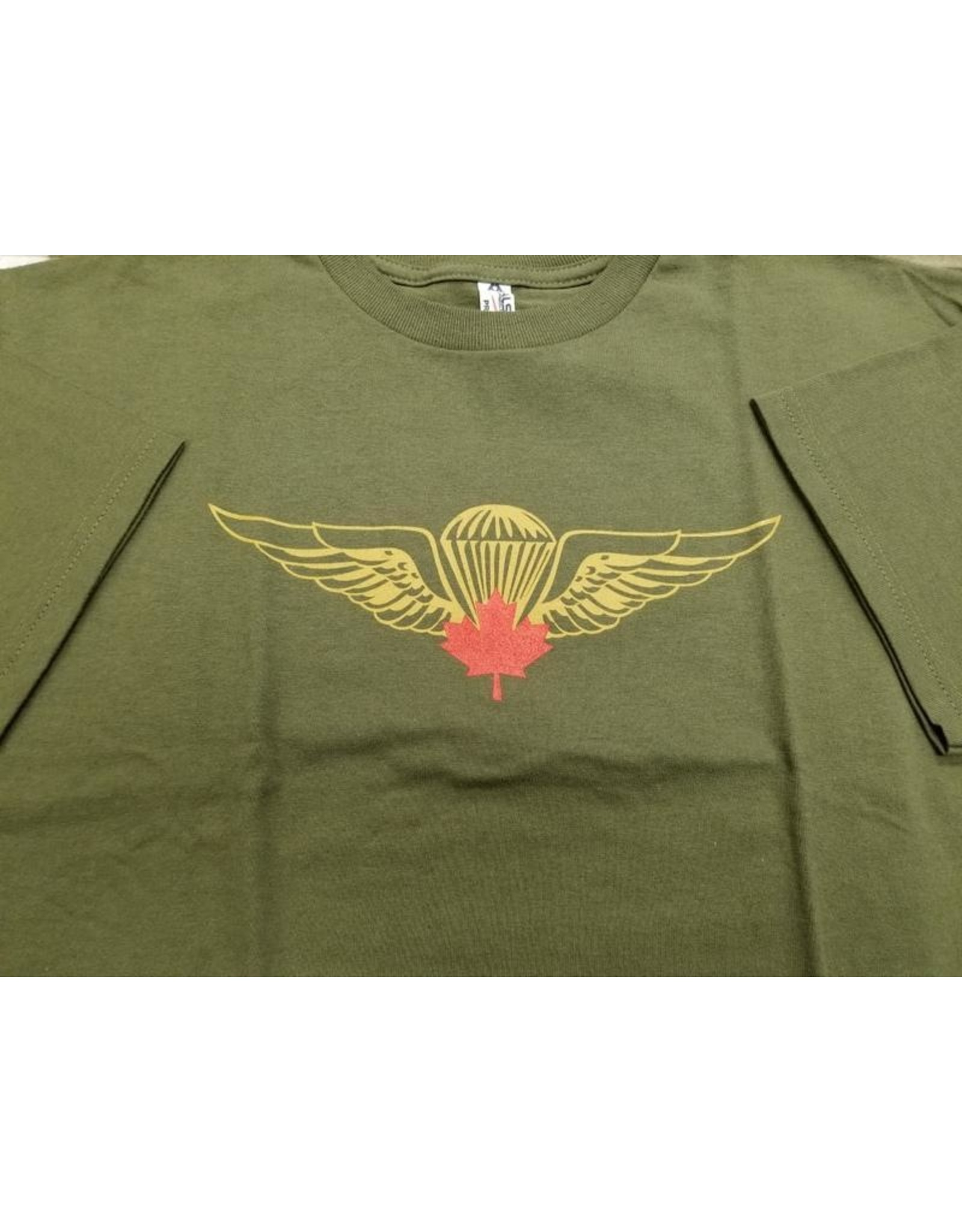 MARSHLANDS AIRBORNE  RED PARA WING T-SHIRT OD