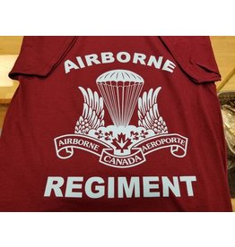 MARSHLANDS AIRBORNE UNIT T-SHIRT BURG