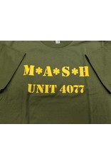 MARSHLANDS MASH OLIVE T-SHIRT MENS