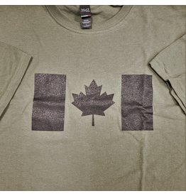 WORLD FAMOUS SALES ARMY T-SHIRT OD/BK PRINT