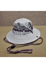 BRONER LADIES GREY POLY/NYLON BIG BRIM HAT SUN HAT