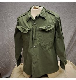 SURPLUS CANADIAN LOGISTIC OLIVE SHIRT MED/SHORT
