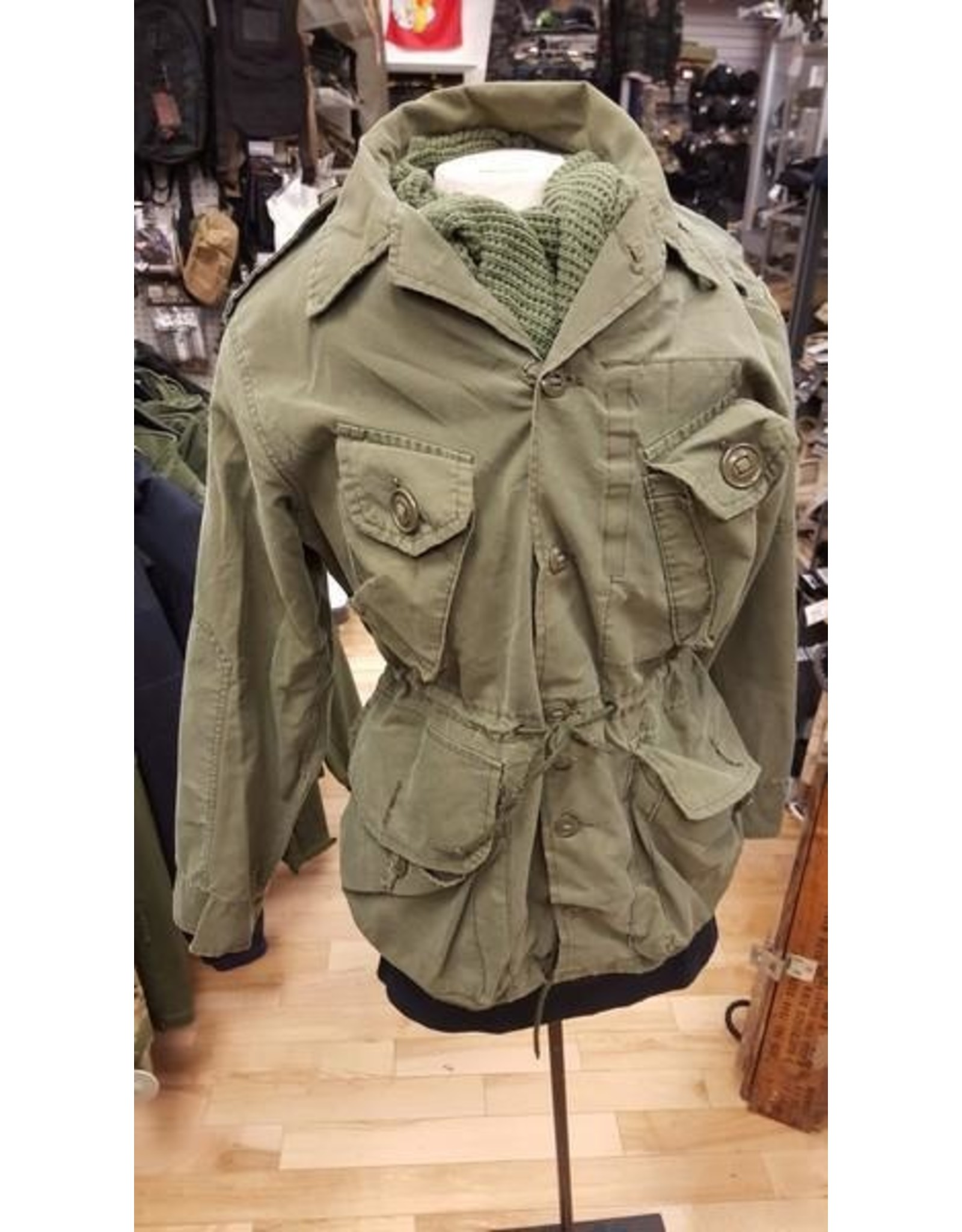 SURPLUS CANADIAN COMBAT OLIVE DRAB SHIRT