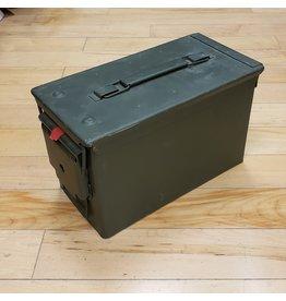 SURPLUS .50 CAL AMMO BOX-USED