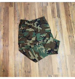 SURPLUS WOODLAND CAMO COMBAT PANTS
