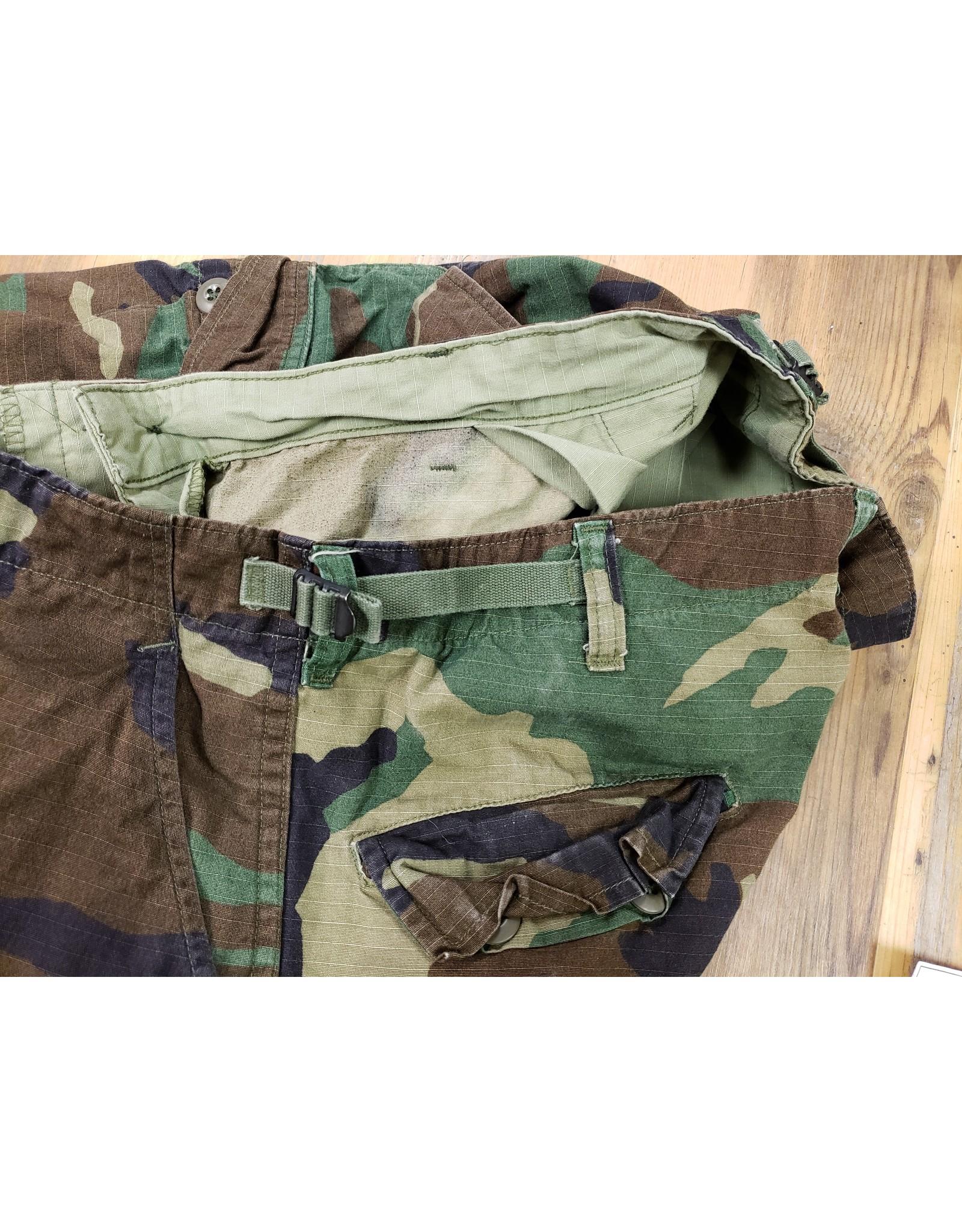 SURPLUS WOODLAND CAMO COMBAT PANTS