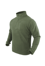 CONDOR TACTICAL CONDOR 1/4 BLACK ZIP FLEECE PULL OVER