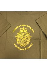 MARSHLANDS CANADIAN FORCES T-SHIRT OD/YELL